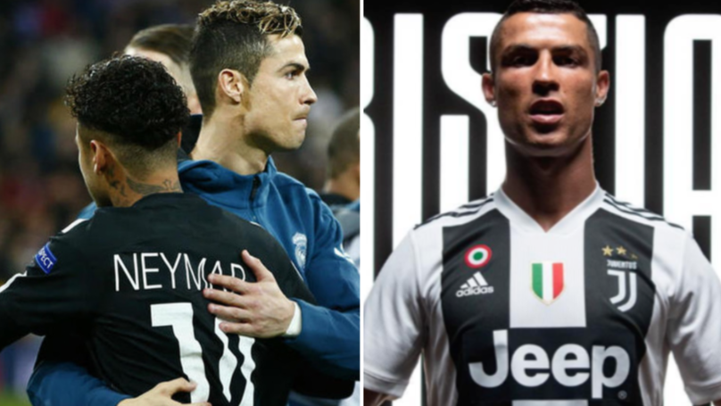 Neymar Gives His Thoughts On Cristiano Ronaldo's Move To Juventus