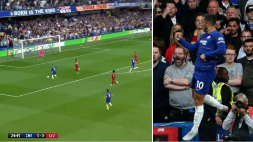 Eden Hazard Scores His Second Goal Against Liverpool This Week