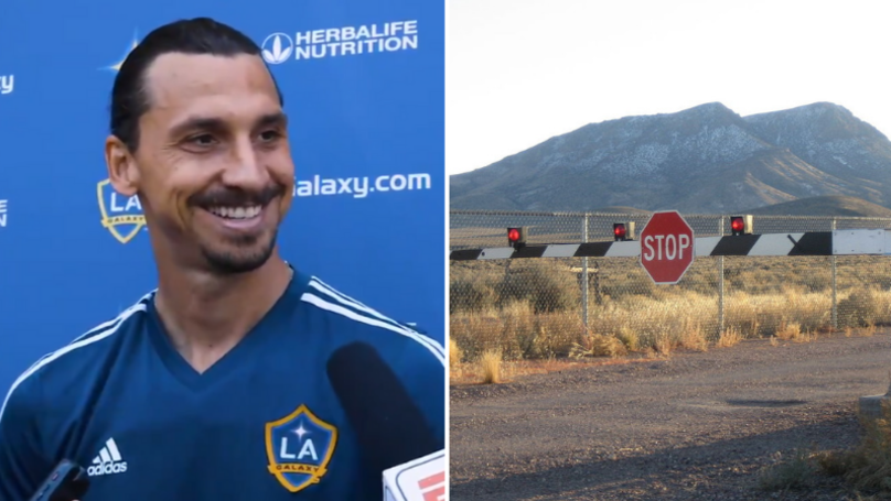 Zlatan Ibrahimovic Has The Perfect Response To 'What's In Area 51?'