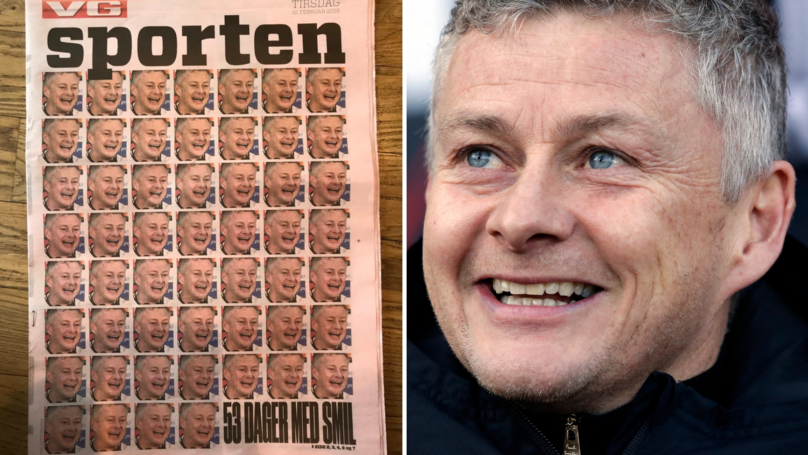 Norwegian Newspaper Has Gone Ole Gunnar Solskjær Crazy With Amazing Front-Page Story