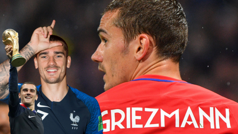 Antoine Griezmann Has Missed Just One Game Through Injury In His Entire Career
