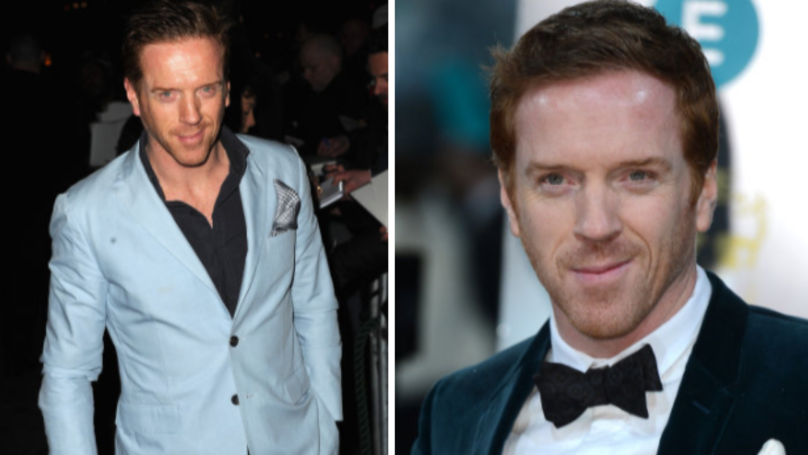 ​Damian Lewis Looks Unrecognisable On The Set Of New Film