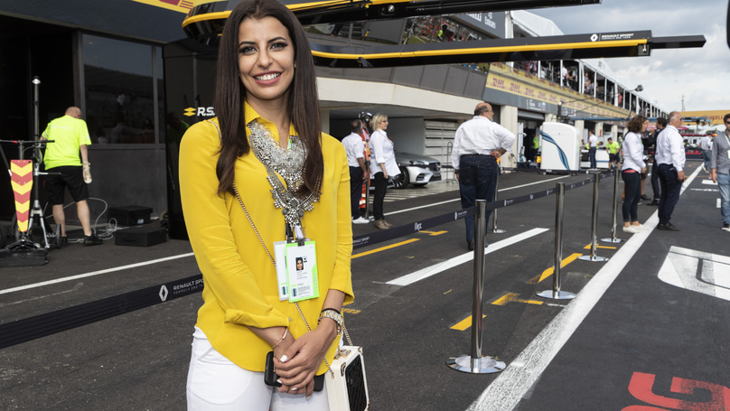Saudi Woman Marks End Of Ban By Driving Formula One Car