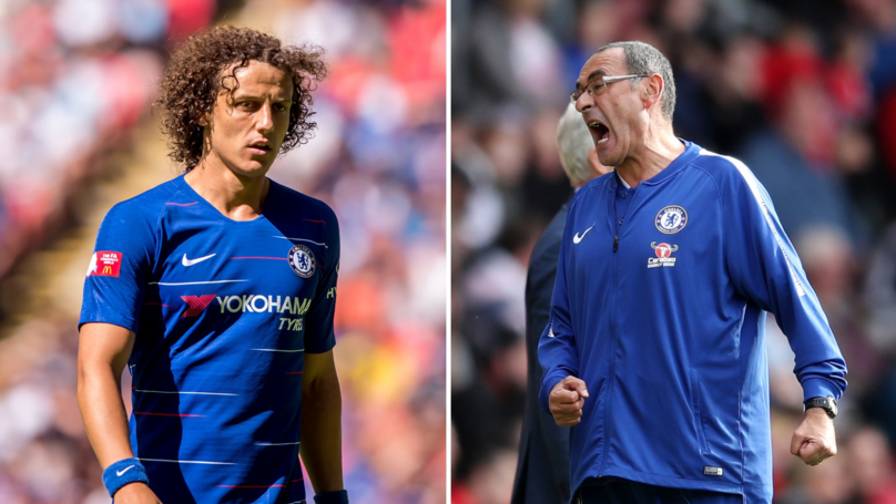 David Luiz Reveals How Maurizio Sarri Reacted In The Dressing Room After Spurs Defeat