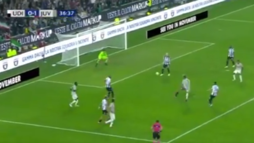 Cristiano Ronaldo Leathers In An Absolute Rocket For 4th Serie A Goal