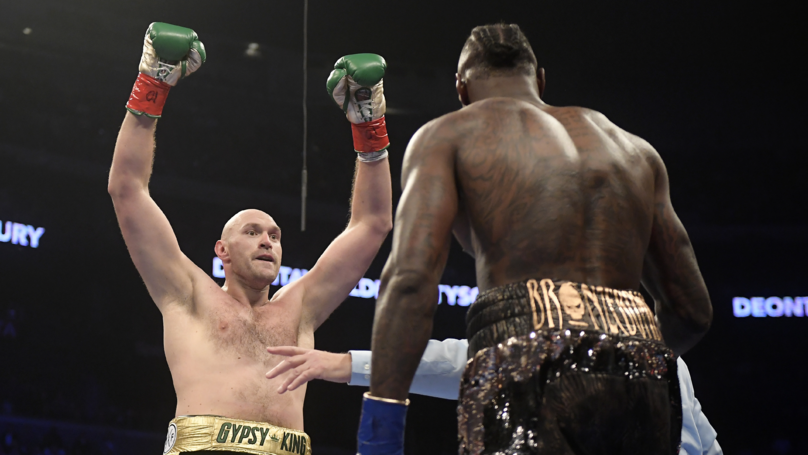 Tyson Fury Wins Two Ring Magazine Awards After Incredible 2018