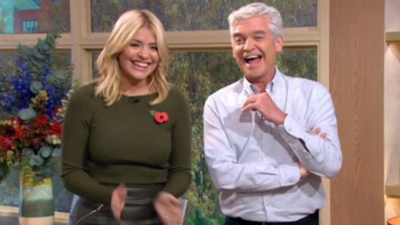 Holly Willoughby Can't Stop Laughing At 'World's Biggest Penis' In Throwback Clip