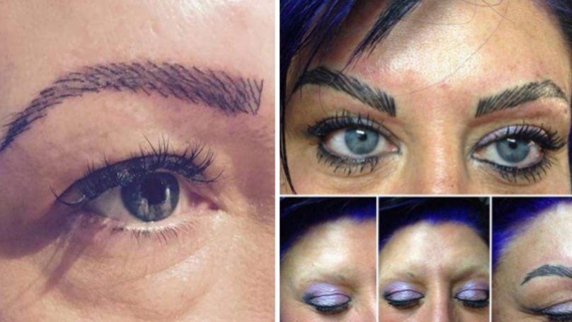 ​Viral Post Highlights The Reality Of Going To A Bad Eyebrow Salon