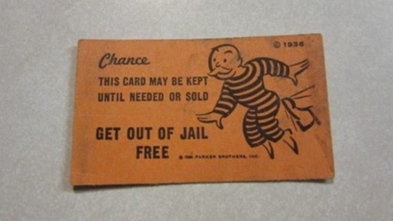 Funniest Man Of The Year Shows Policeman 'Get Out Of Jail Free' Card During Arrest