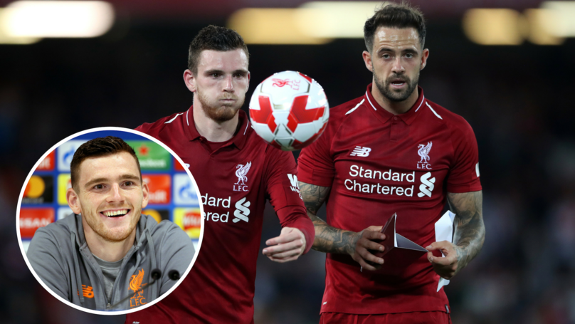 Robertson Stayed At St James' Park After Newcastle Match To Spend Time With Liverpool Fans