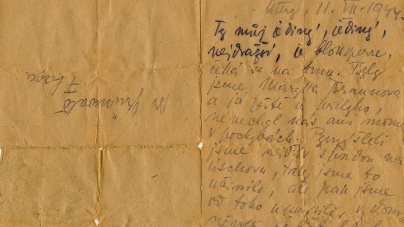 Son Shares Heart-Breaking Letter From His Mother Killed In The Holocaust