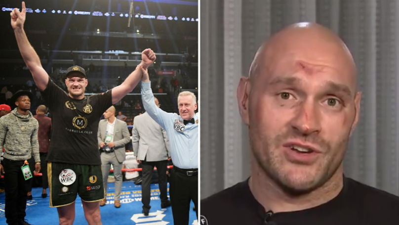 Tyson Fury Says Judges Cost Him Boxing's Greatest Ever Comeback