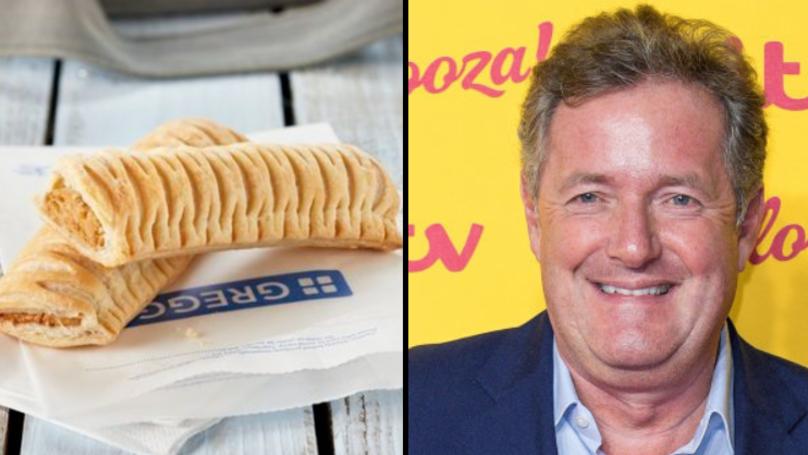 Piers Morgan Shut Down By Greggs Over Vegan Sausage Rolls