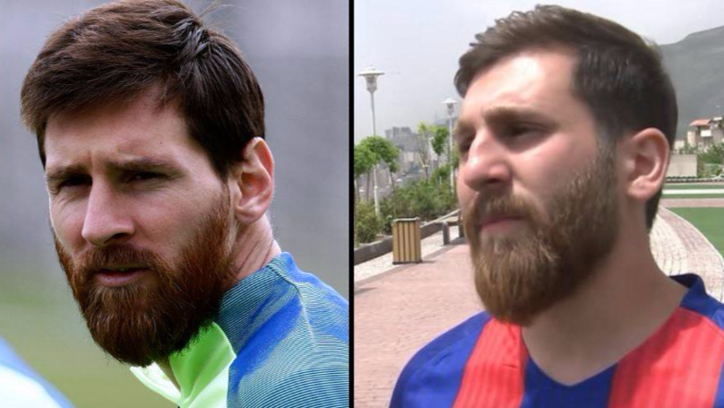 There's A LAD In Iran Who Is The Spitting Image Of Lionel Messi