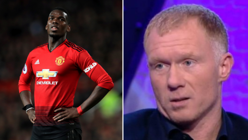 Paul Scholes Absolutely Rips Into Manchester United's Paul Pogba In Furious Rant