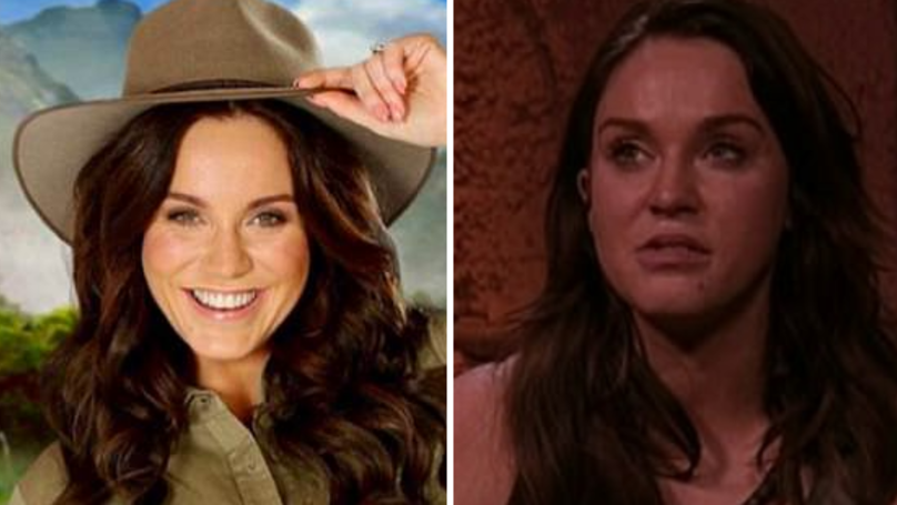 Vicky Pattison Opens Up Her Dad's Alcoholism On I'm A Celeb AU