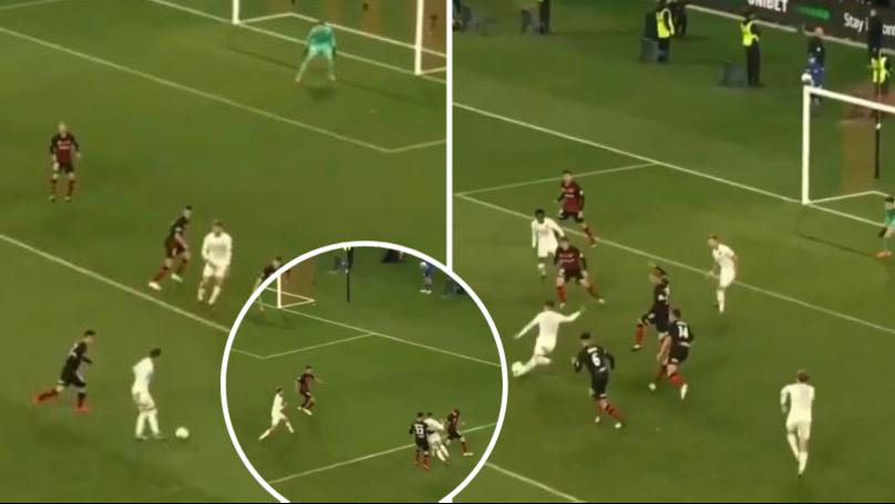 Pablo Hernandez Goes Past Four Defenders To Score Utterly Sensational Last Minute Winner