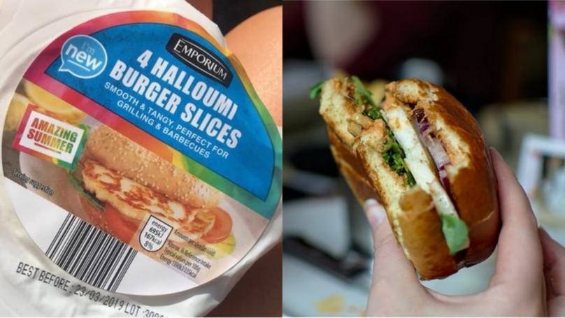 Aldi Launches Halloumi Burger Slices And They Look Amazing