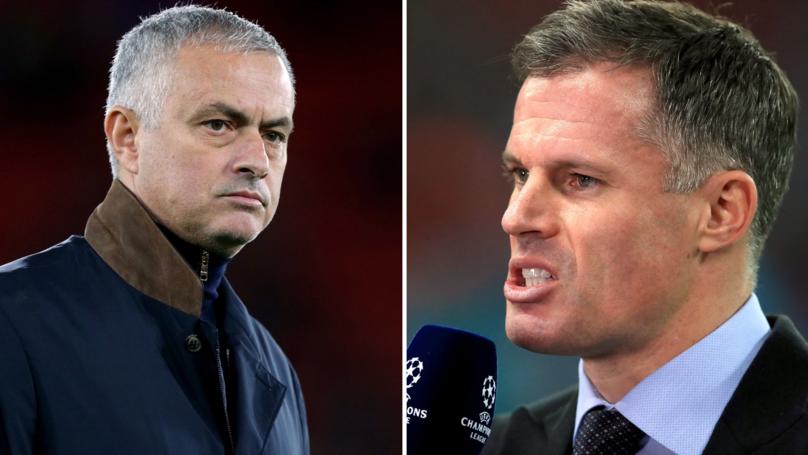 Jamie Carragher Responds To Manchester United's Sacking Of José Mourinho
