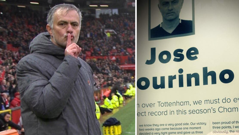 Jose Mourinho's Final Paragraph In Benfica Programme Notes Has Caused Outrage Among Fans