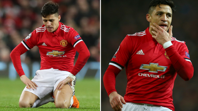 The Staggering Amount Of Times Alexis Sanchez Has Lost Possession At Man Utd