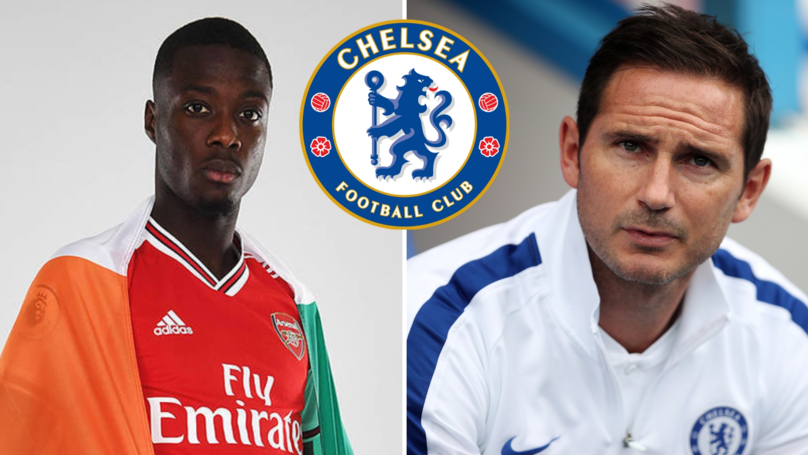 Arsenal New Boy Nicolas Pepe Once Said Chelsea Move 'Would Be A Dream For Me'