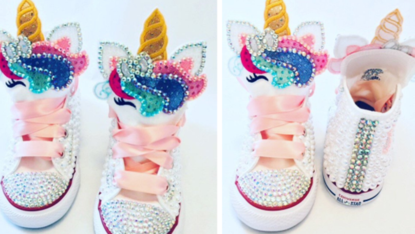 These Sparkle Unicorn Converse Are Adorable