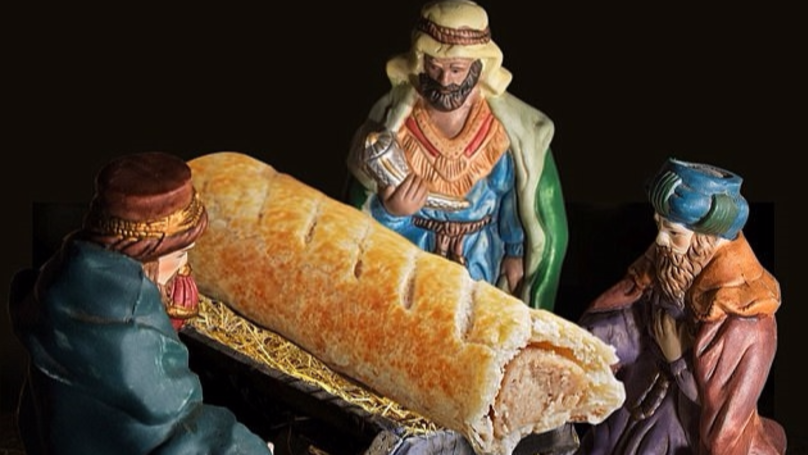 Greggs Apologises After Advent Calendar Replaces Baby Jesus With Sausage Roll