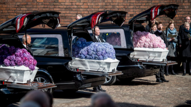 The Funeral Of Anders Holch Povlsen's Three Children Took Place Today
