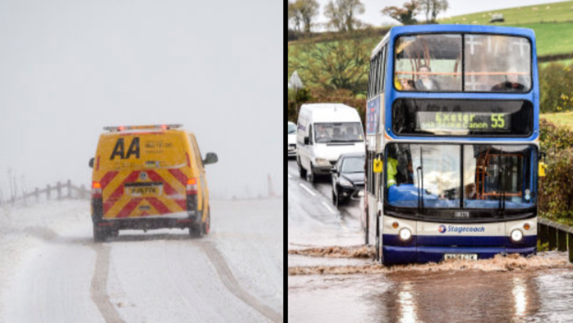 Winter Weather Returns To UK This Weekend With Snow And Floods