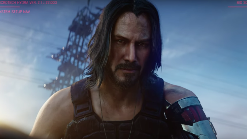 Keanu Reeves Revealed As Star Of 'Cyberpunk 2077' At E3 2019