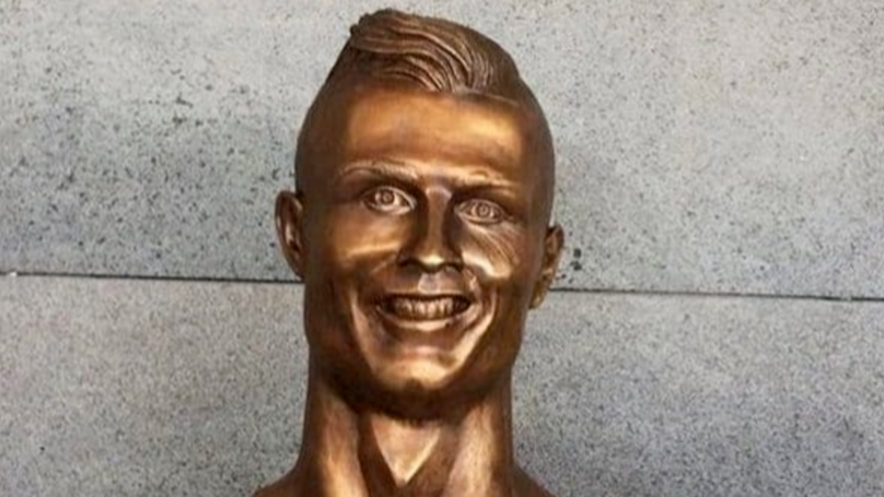 That Awful Bust Of Cristiano Ronaldo Has Finally Been Replaced