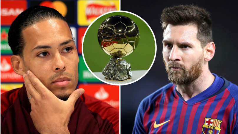 Fans Voted For Lionel Messi To Win The Ballon d'Or Ahead Of Virgil Van Dijk
