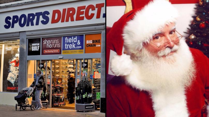 Sports Direct Worker Tells Kid That Santa Claus Is Dead