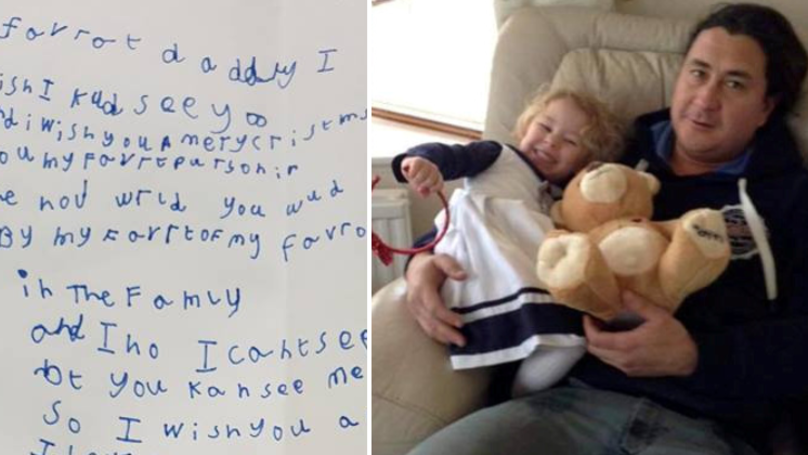 ​Little Girl Sends Letter To Late Dad In Heaven And Gets Heartwarming Reply From Royal Mail