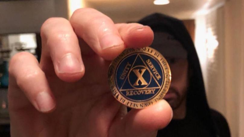 Eminem Celebrates 10 Years Drug-Free