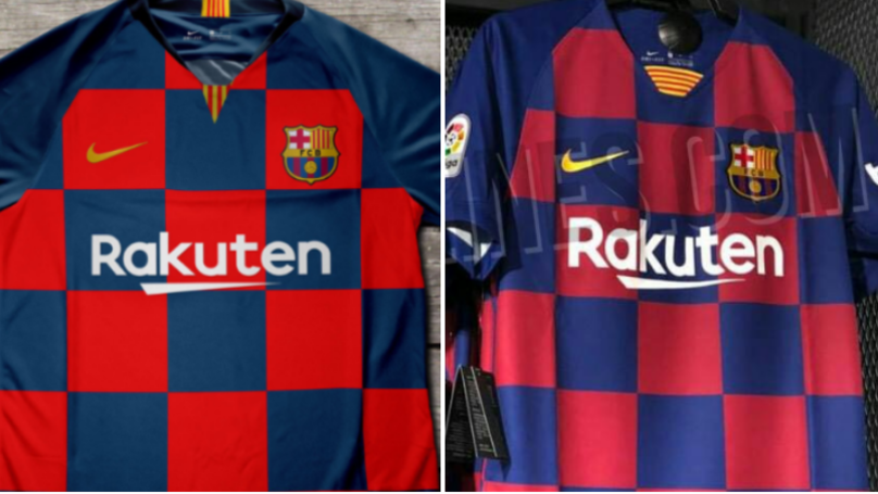 Barcelona's 2019/20 Home Kit Is Like Nothing They've Ever Had Before