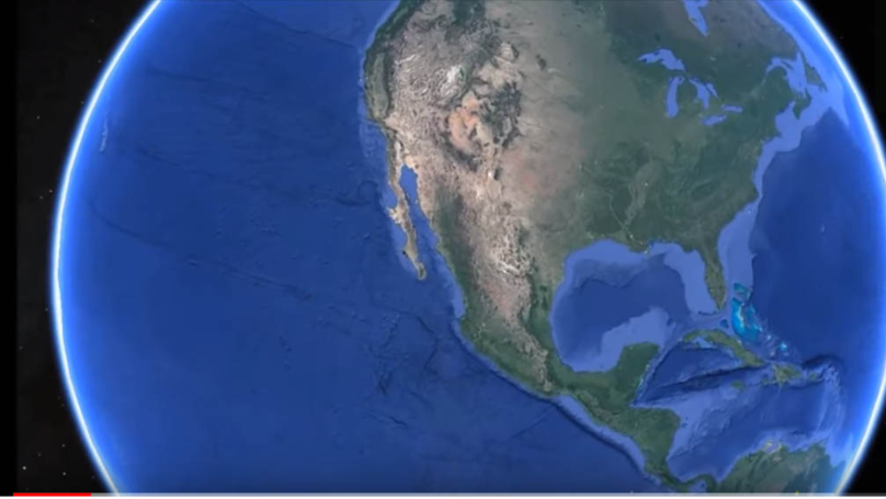 Google Earth: Someone Has Found A Giant 'Alien City' Off Mexico's Pacific Coast