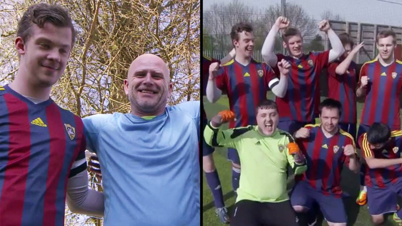 Dad Describes How Football Helps 'Severely Disabled' Sons