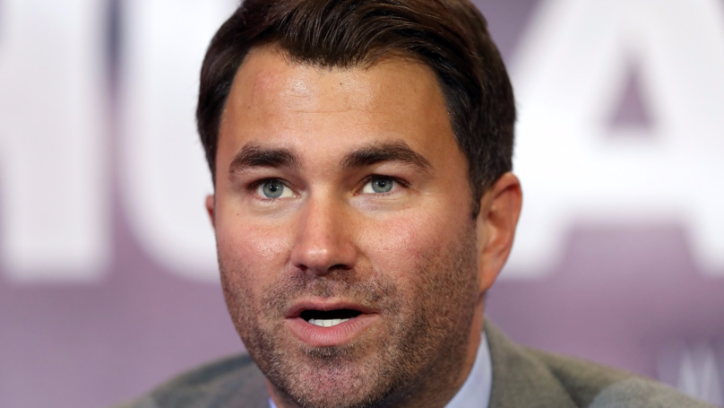 Eddie Hearn Says There Is Only One Cross-Sport Fight That He'll Allow