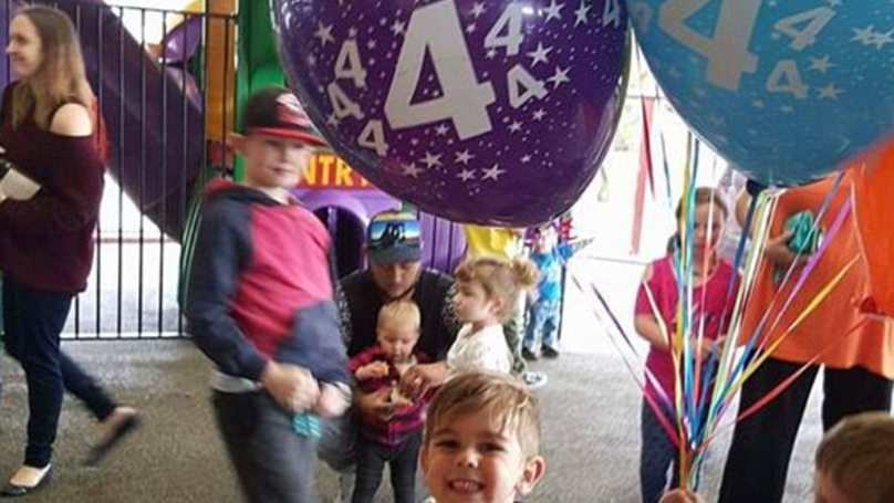 Children Celebrate With Lad Who Was Stood Up On His Birthday