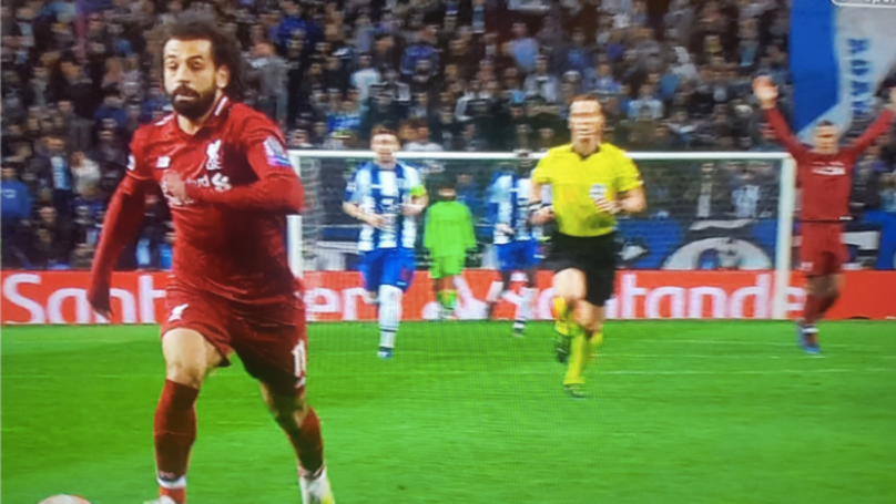 Virgil van Dijk Celebrates Before Mohamed Salah Even Scores As Liverpool Go Through