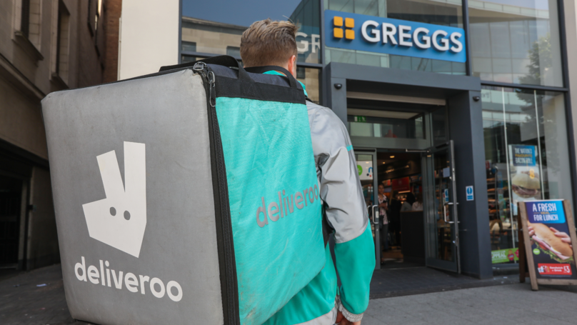 ​Greggs Now Does Delivery Thanks To New Trial With Deliveroo