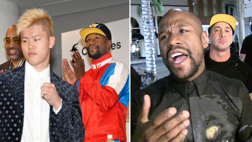 Floyd Mayweather's Tokyo Fight Back On, Says 'We're Gonna Make It Happen'