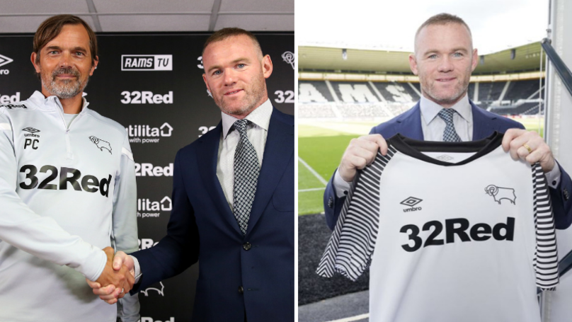 Wayne Rooney's Derby County Shirt Number Causes Outrage