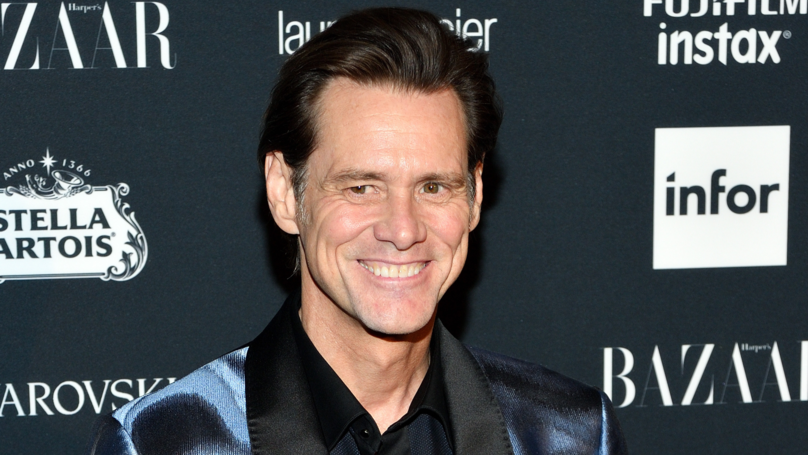 Jim Carrey Painted An Unflattering Picture Of Donald Trump's Press Secretary