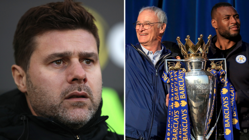 Spurs Winning The Premier League Would Be A 'Bigger Achievement Than Leicester'