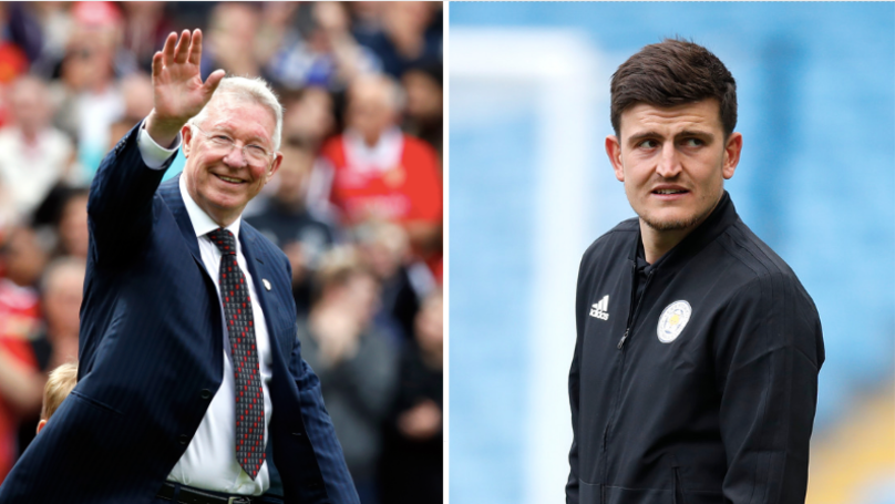 Sir Alex Ferguson Jokes That Man Utd Should Lock Harry Maguire In The Boardroom
