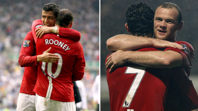 The Nickname That Cristiano Ronaldo Gave Wayne Rooney At Manchester United