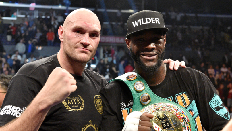 Tyson Fury And Deontay Wilder Make Agreement On Rematch